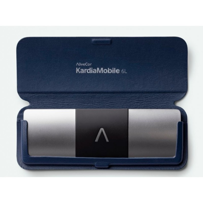 Kardia Mobile 6L + Carry Pod Azul